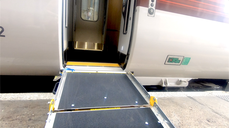 Azuma Train Ramp Entrance