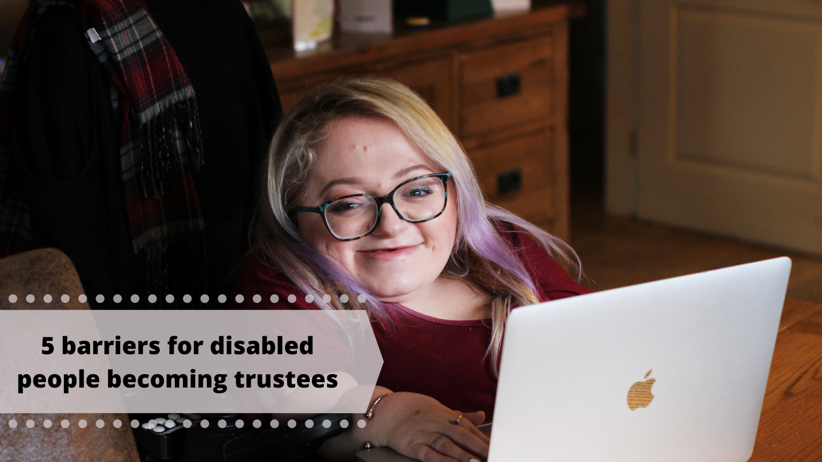 5 barriers for disabled people becoming trustees